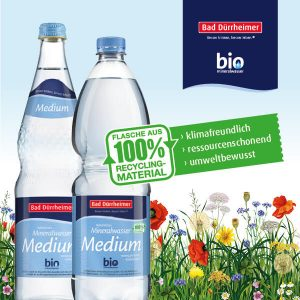 Bad Dürrheimer Bio Medium Mineralwasser